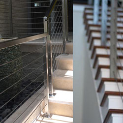 indital custom metal railings for homes